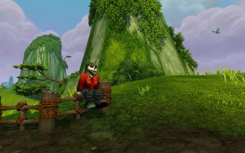 Female Pandaren in-game appearance