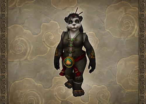 Concept art for female Pandaren