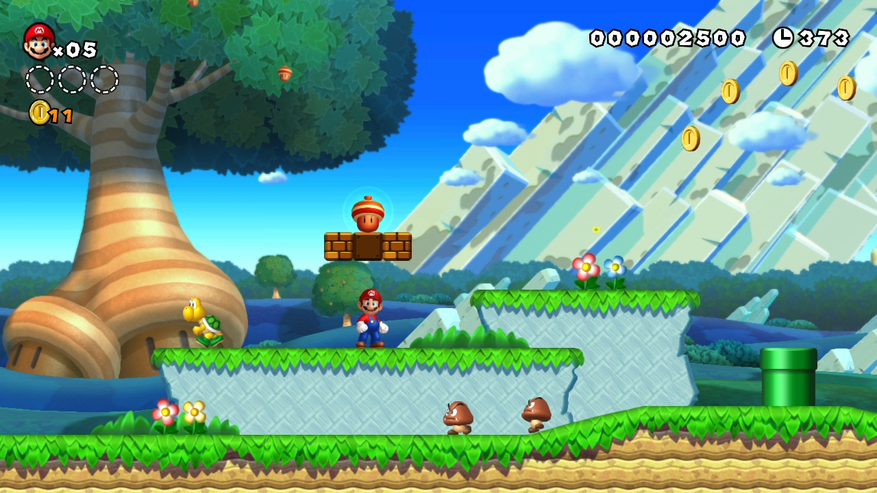 review new super mario bros u rocket chainsaw. Black Bedroom Furniture Sets. Home Design Ideas