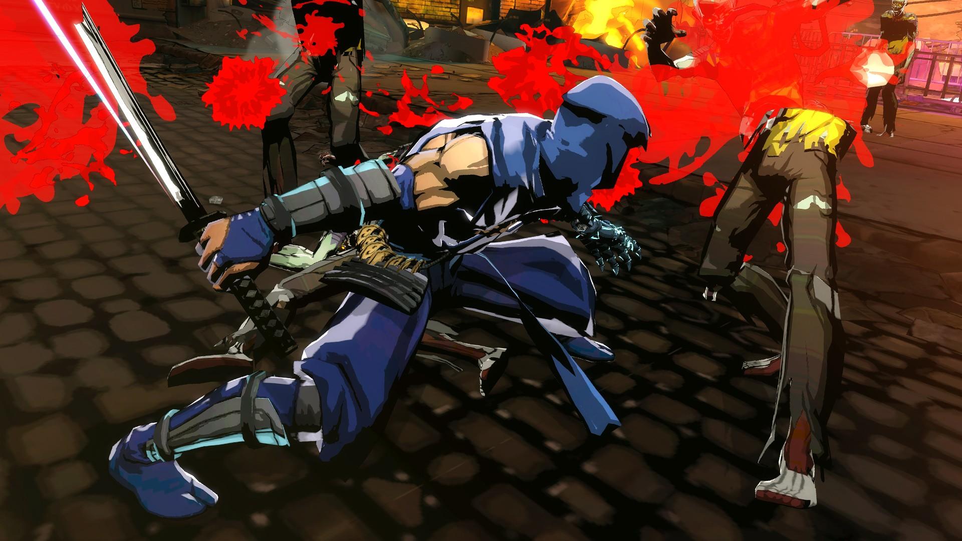 E3 2013 Yaiba Ninja Gaiden Z Preview Rocket Chainsaw