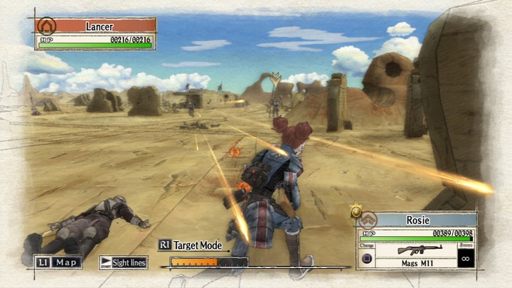 Valkyria Chronicles Remastered screen 1