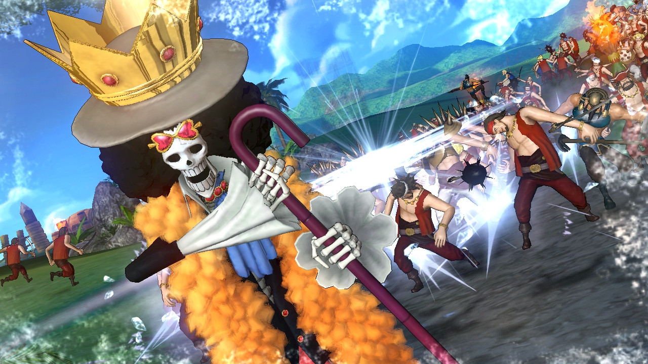 one piece pirate warriors 2 rocket chainsaw. Black Bedroom Furniture Sets. Home Design Ideas
