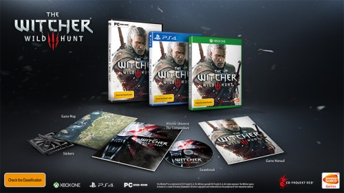 witcher1 500x281 The Witcher 3: Wild Hunt collectors edition is hot