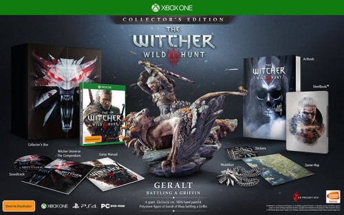 witcher2 500x312 The Witcher 3: Wild Hunt collectors edition is hot