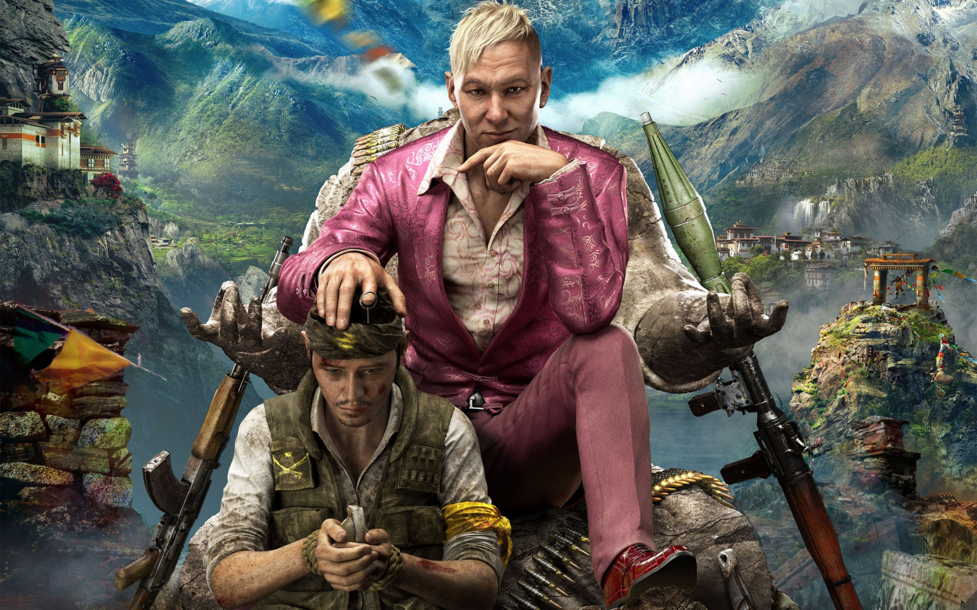 Far Cry 4 - PS4 Review - Rocket Chainsaw