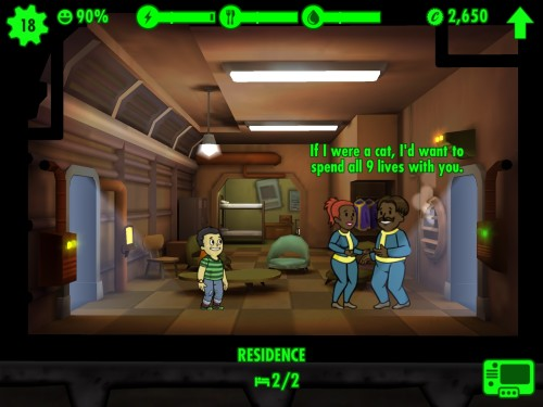 IMG 0010 500x375 Praise the Overseer; Fallout Shelter for iOS Review.