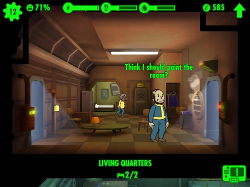 IMG 0044 500x375 Praise the Overseer; Fallout Shelter for iOS Review.