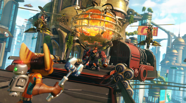 Ratchet & Clank make their PS4 debut