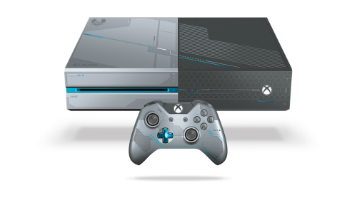 Xbox One Limited Edition Halo 5 Guardians Angled Render png.ashx  500x281 Xbox Gamescom Briefing Summary   Halo Wars 2, Scalebound, Crackdown 3 and more