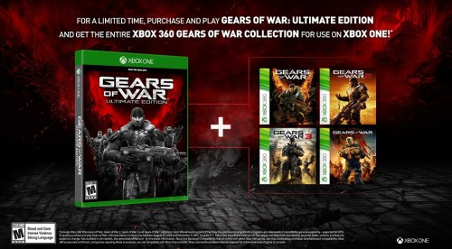 gearscollection hero 500x276 Buy Gears of War Ultimate Edition, receive every Gears title free via Backward Compatibility