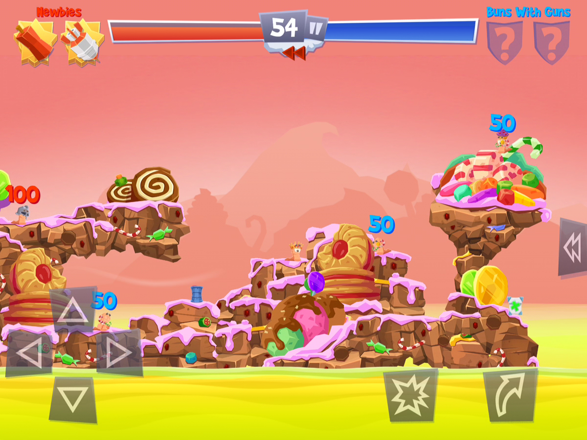 Worms Spiel