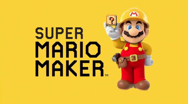 mario maker logo