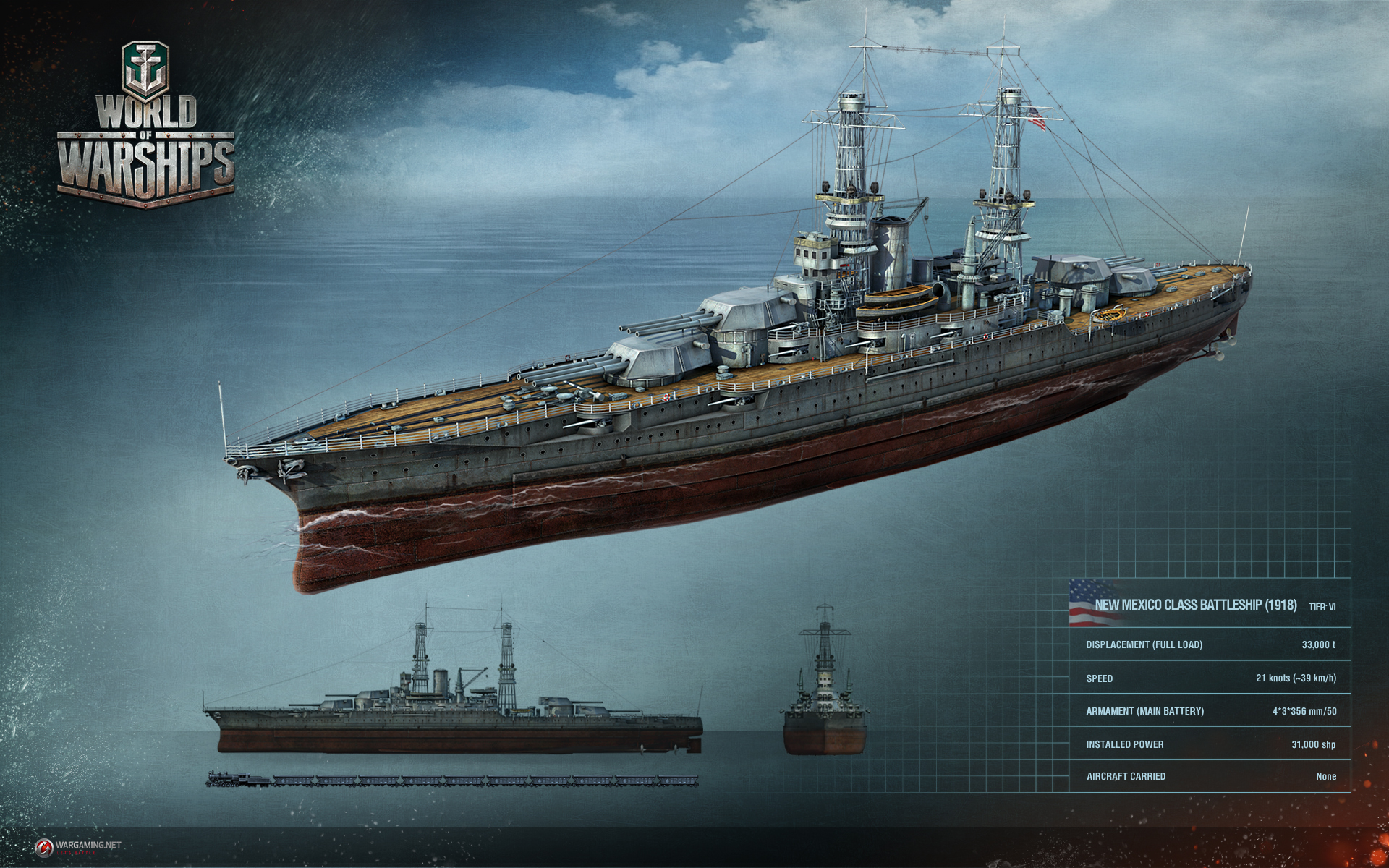 World of Warships Hands-On - Rocket Chainsaw