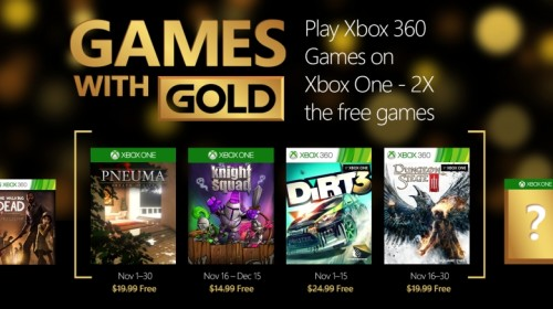 Games with Gold November 2015