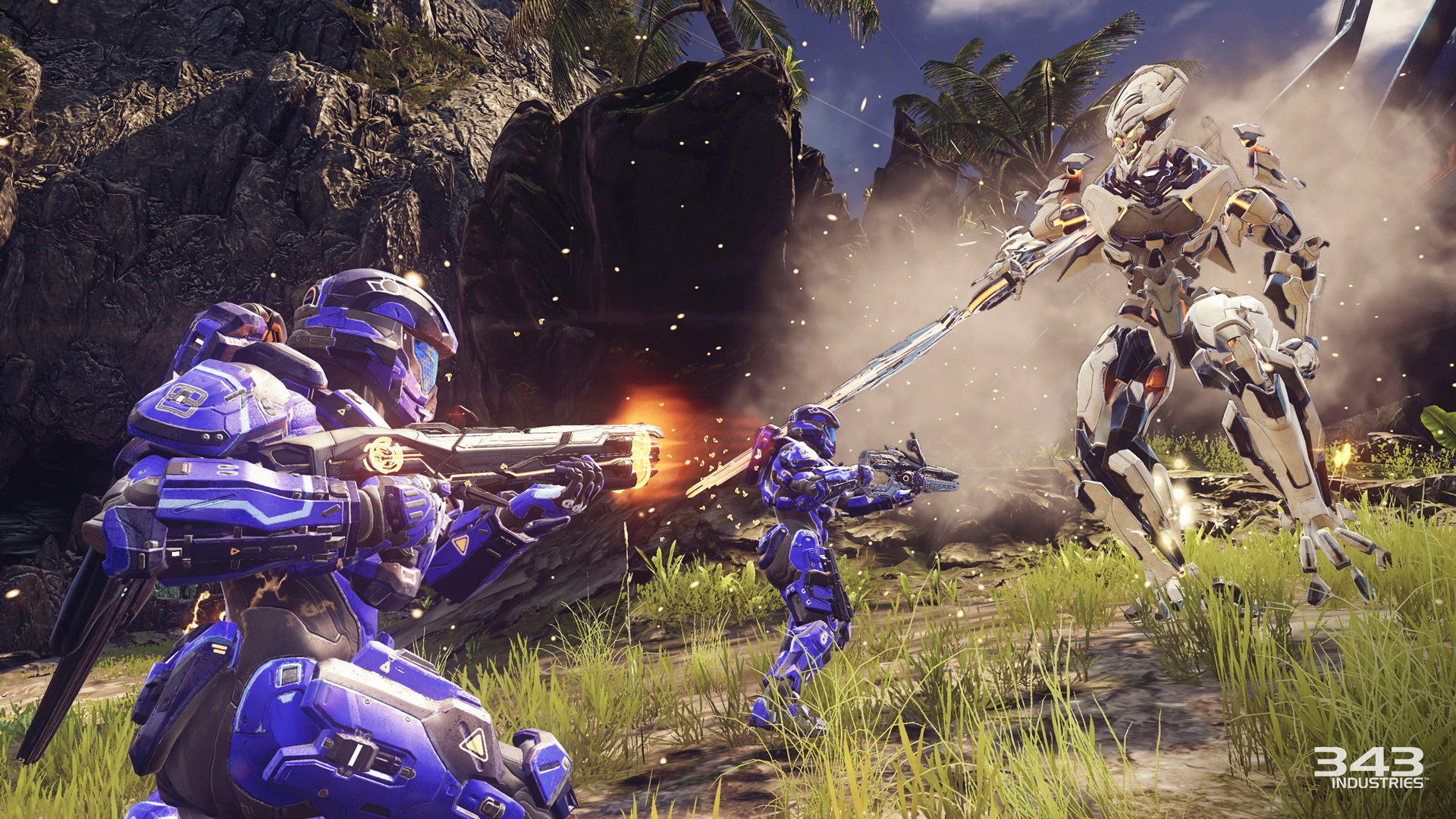 Building a Warzone – 343′s Kevin Franklin on Halo 5′s new