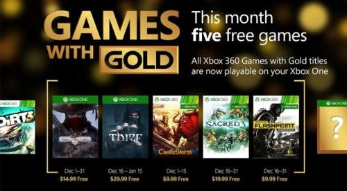 xbox live games with gold december 2015