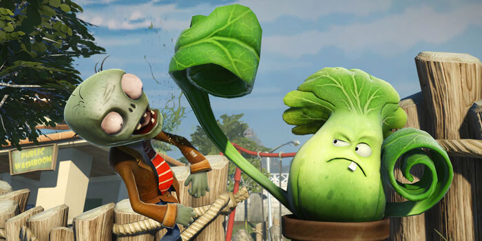 Plants Vs Zombies Garden Warfare 2 Open Beta Announced Rocket Chainsaw