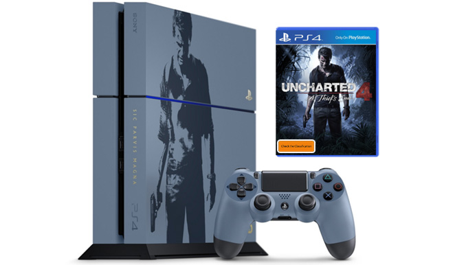 Uncharted 4 PS4 Console