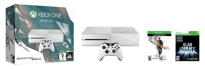 xbox one Quantum Break console