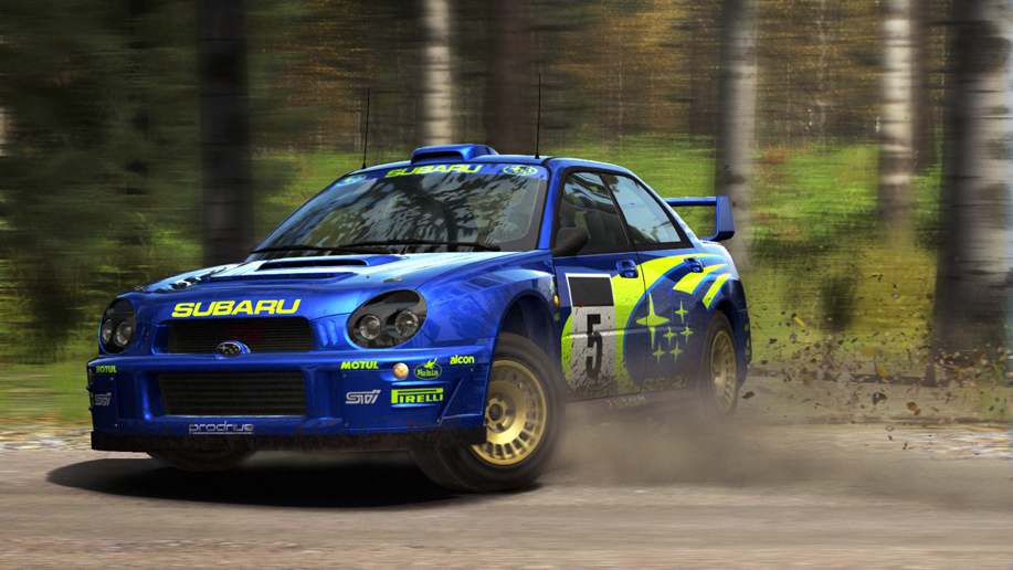 Subaru Impreza Finland Slide