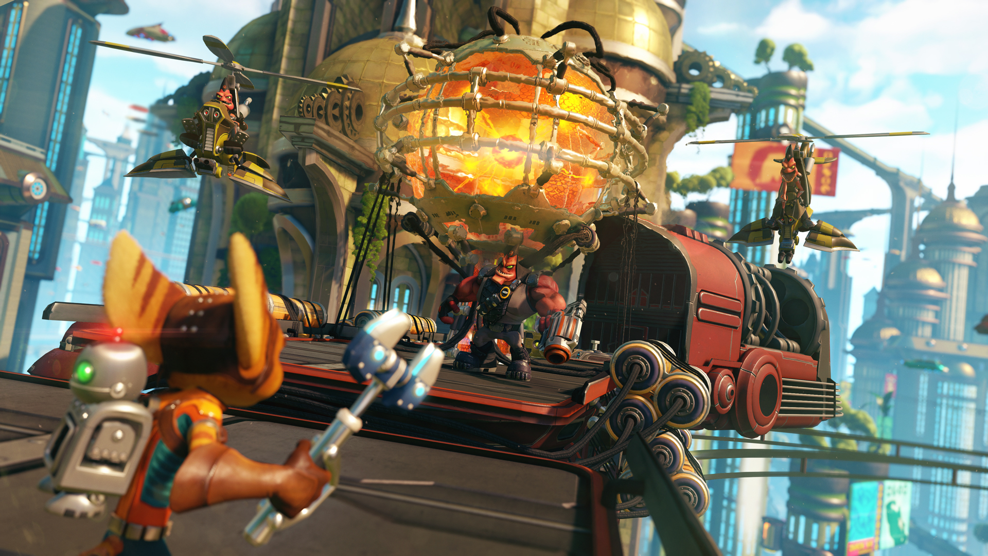 ratchet and clank 2016 screen 1 Playstation Christmas Gift Guide 2016
