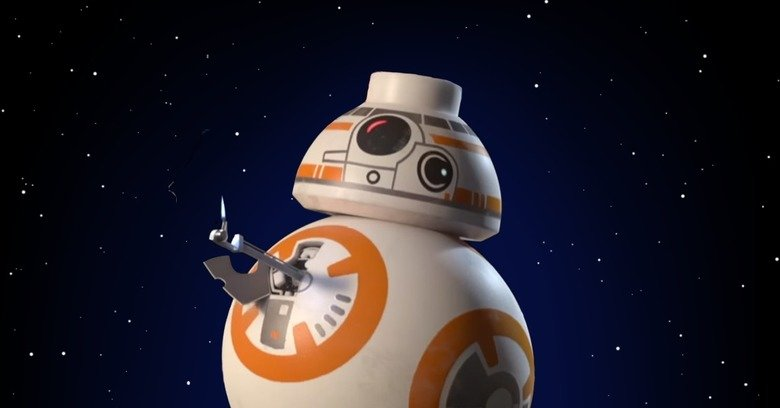 LEGO Star Wars The Force Awakens BB-8 Thumbs Up