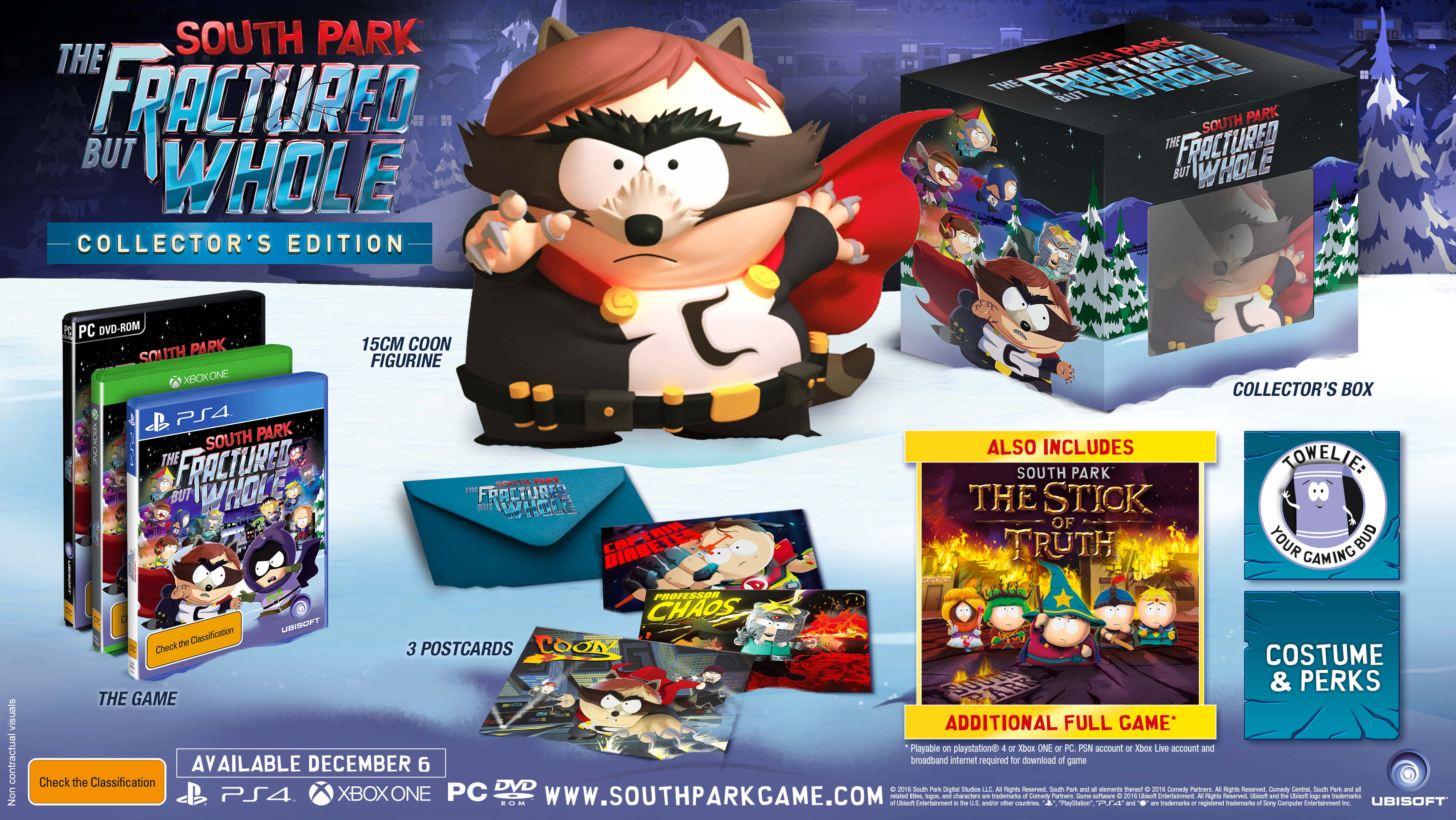 SPFBW mock collector e3 160613 230pm ANZ 1465857030 E3 2016: South Park: The Fractured But Whole Dated