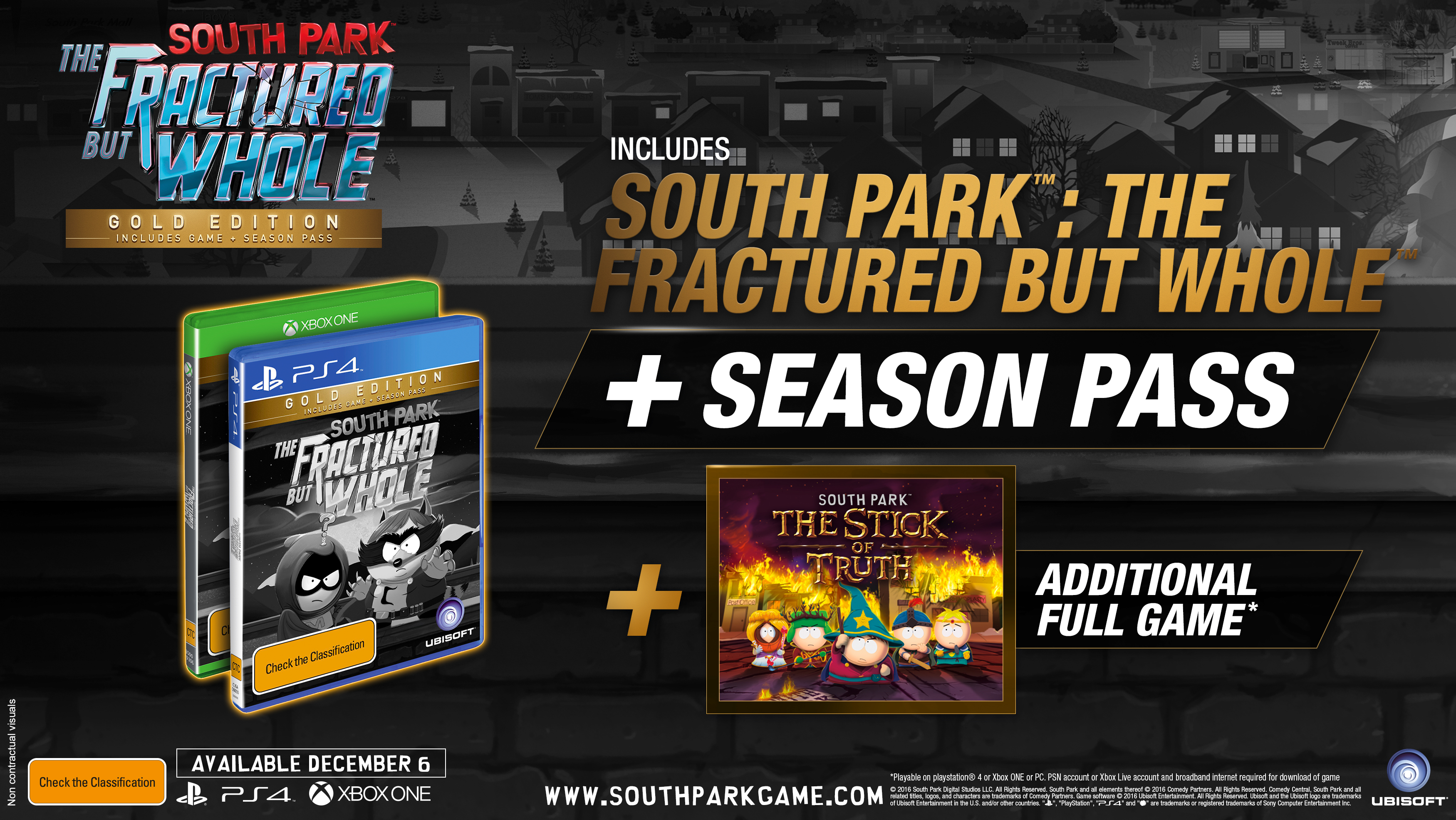 SPFBW mock gold e3 160613 230pm ANZ 1465857025 E3 2016: South Park: The Fractured But Whole Dated
