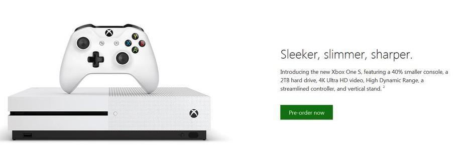 xbox one slim 1 E3 2016: Xbox One Slim Leaked