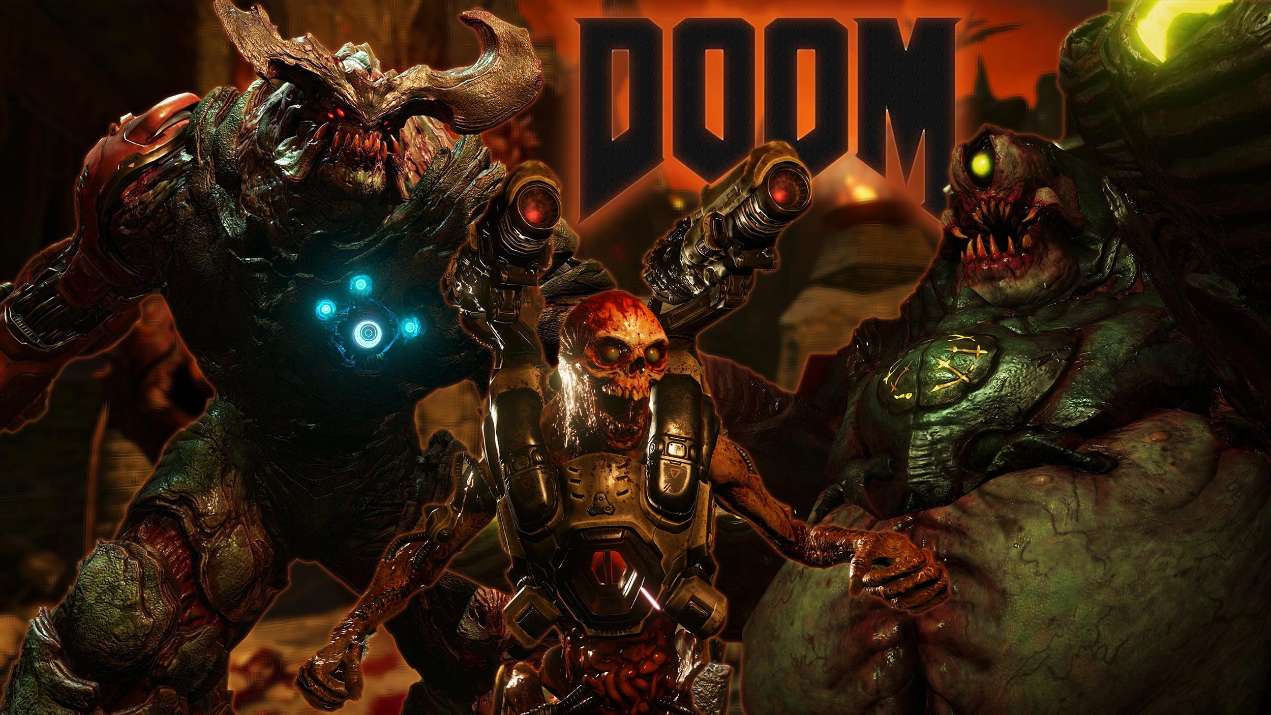 Doom-2016-Demons