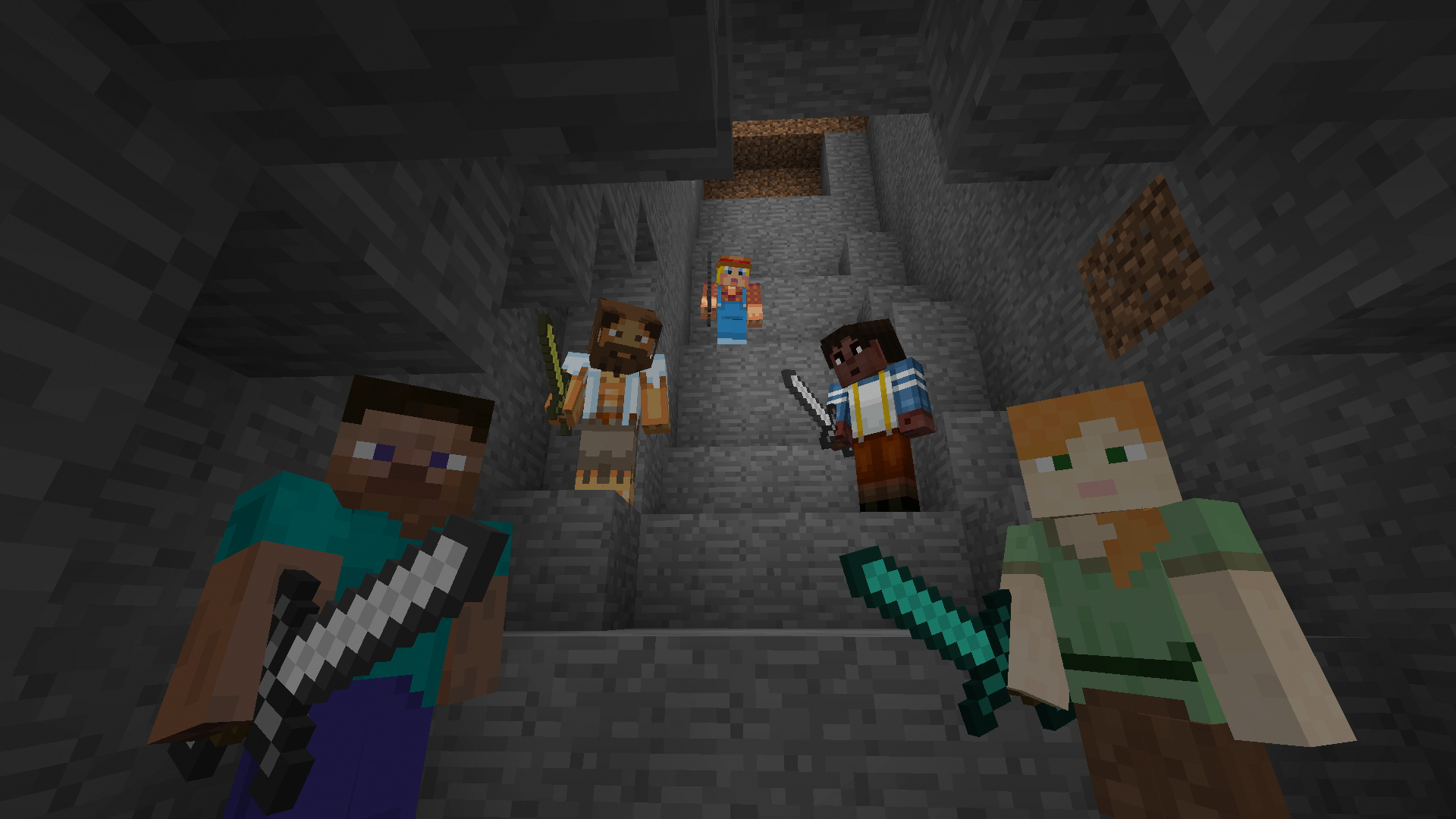 Minecraft_Realms_Multiplayer_Staircase