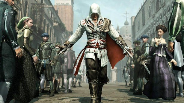Assassin S Creed Ezio Collection Rated Rocket Chainsaw