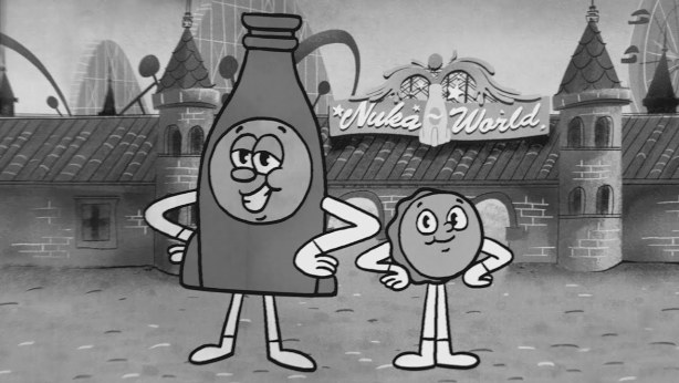 Fallout 4 Nuka-World Bottle and Cappy