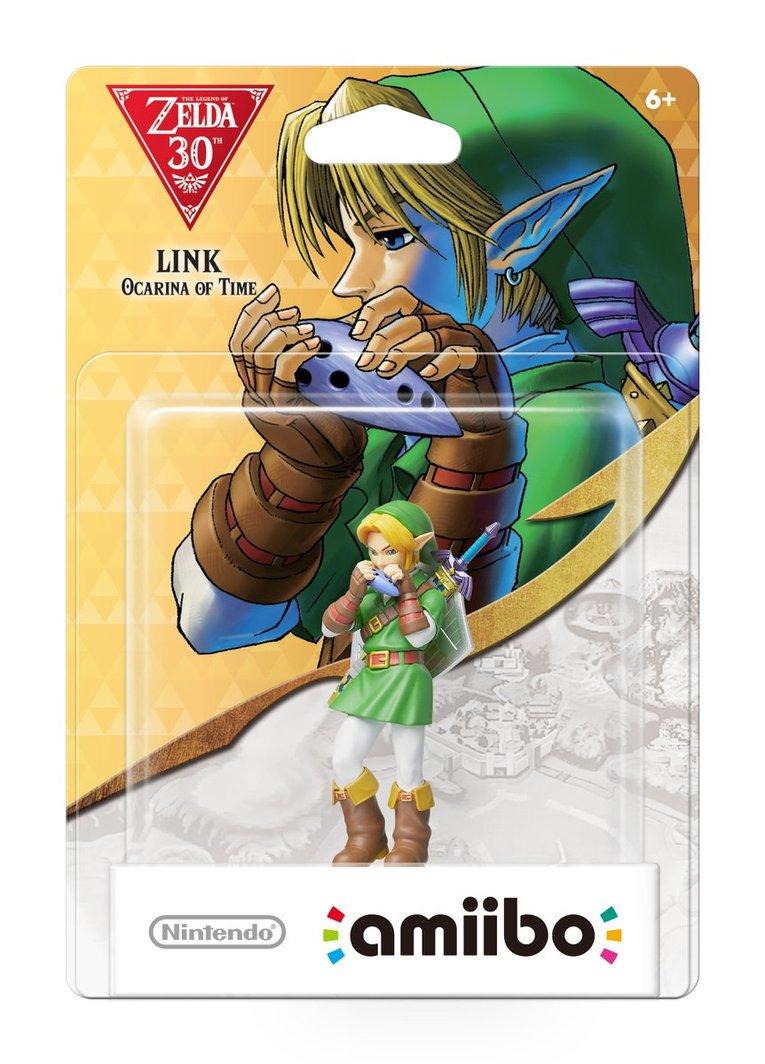 Link Ocarina amiibo Nintendo celebrate Zelda's 30th anniversary