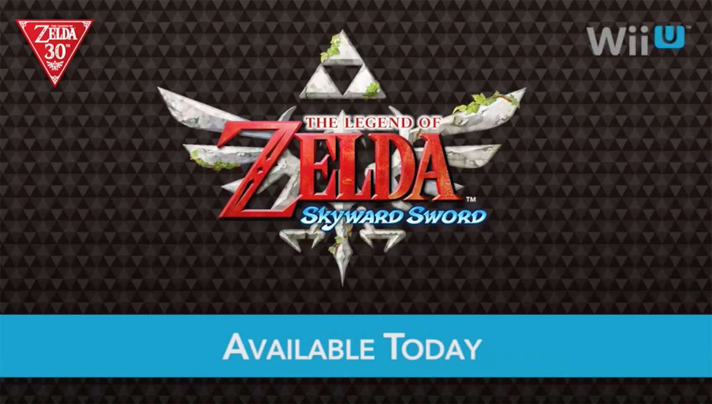 Skyward Sword Wii U
