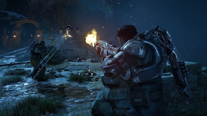 Gears4 Screenshot Guardian combat The Coalitions Chuck Osieja Talks Gears of War 4