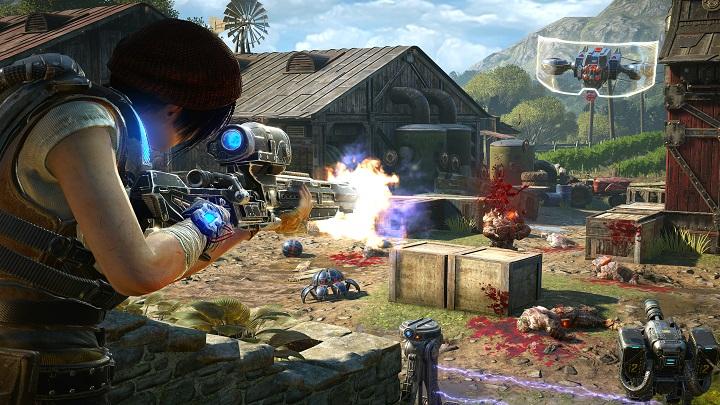 Gears4 horde Sniper The Coalitions Chuck Osieja Talks Gears of War 4