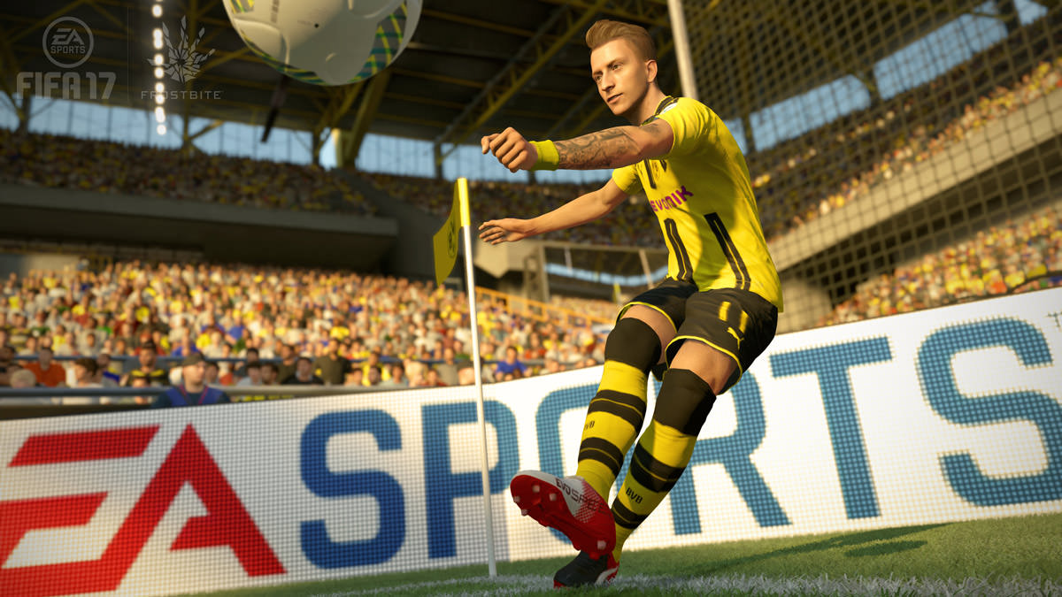 fifa 17 reus corner kick Playstation Christmas Gift Guide 2016