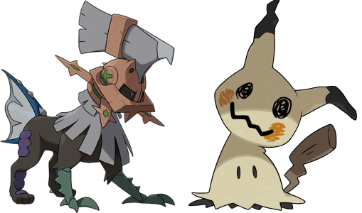 mimikyu and type null Pokemon Sun/Moon Are The Most Exciting Pokemon Games Since Gold/Silver