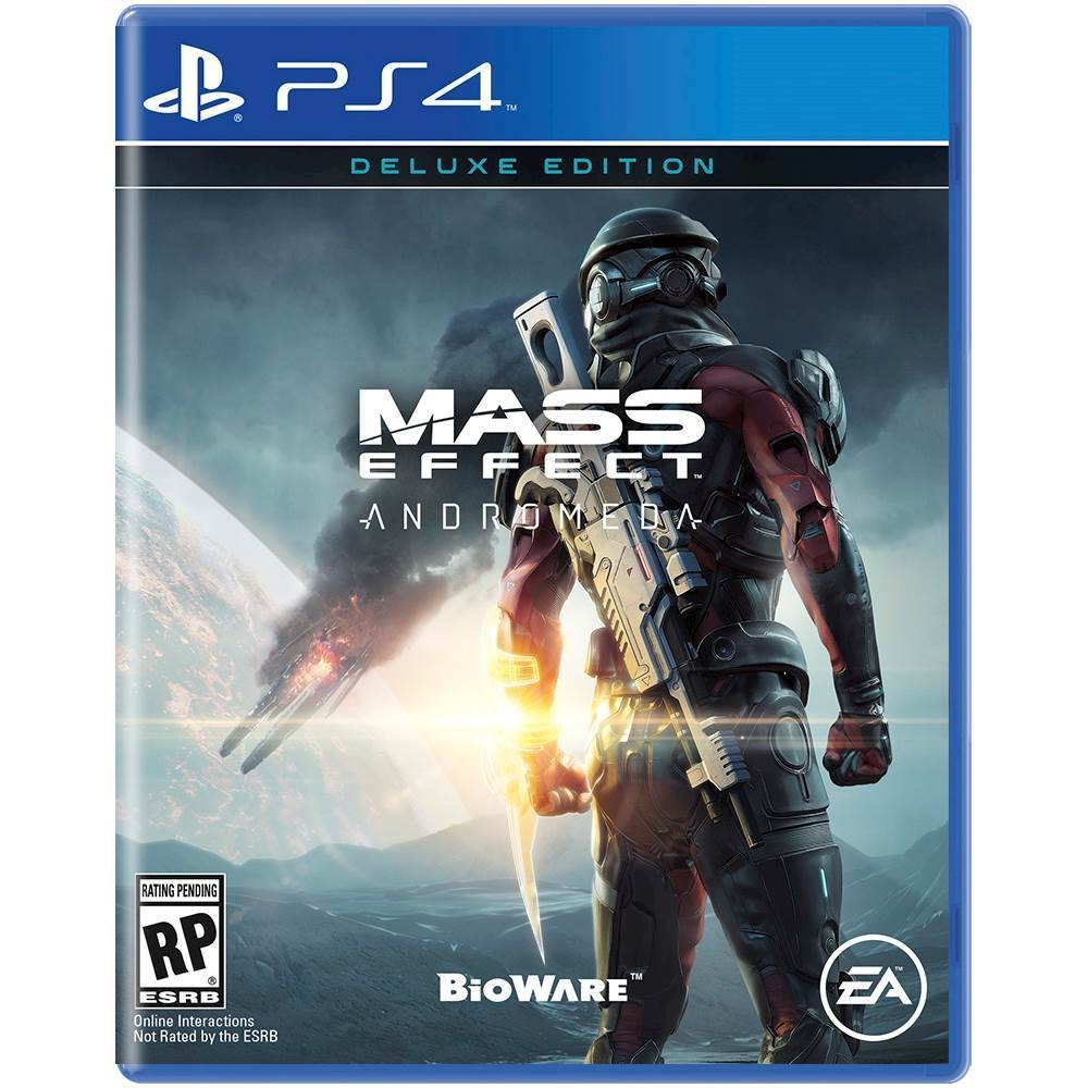 Andromeda Box Art PS4 Mass Effect Andromeda Box Art Leaked