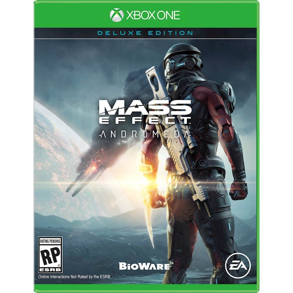 Mass Effect Andromeda Box Art Xbox