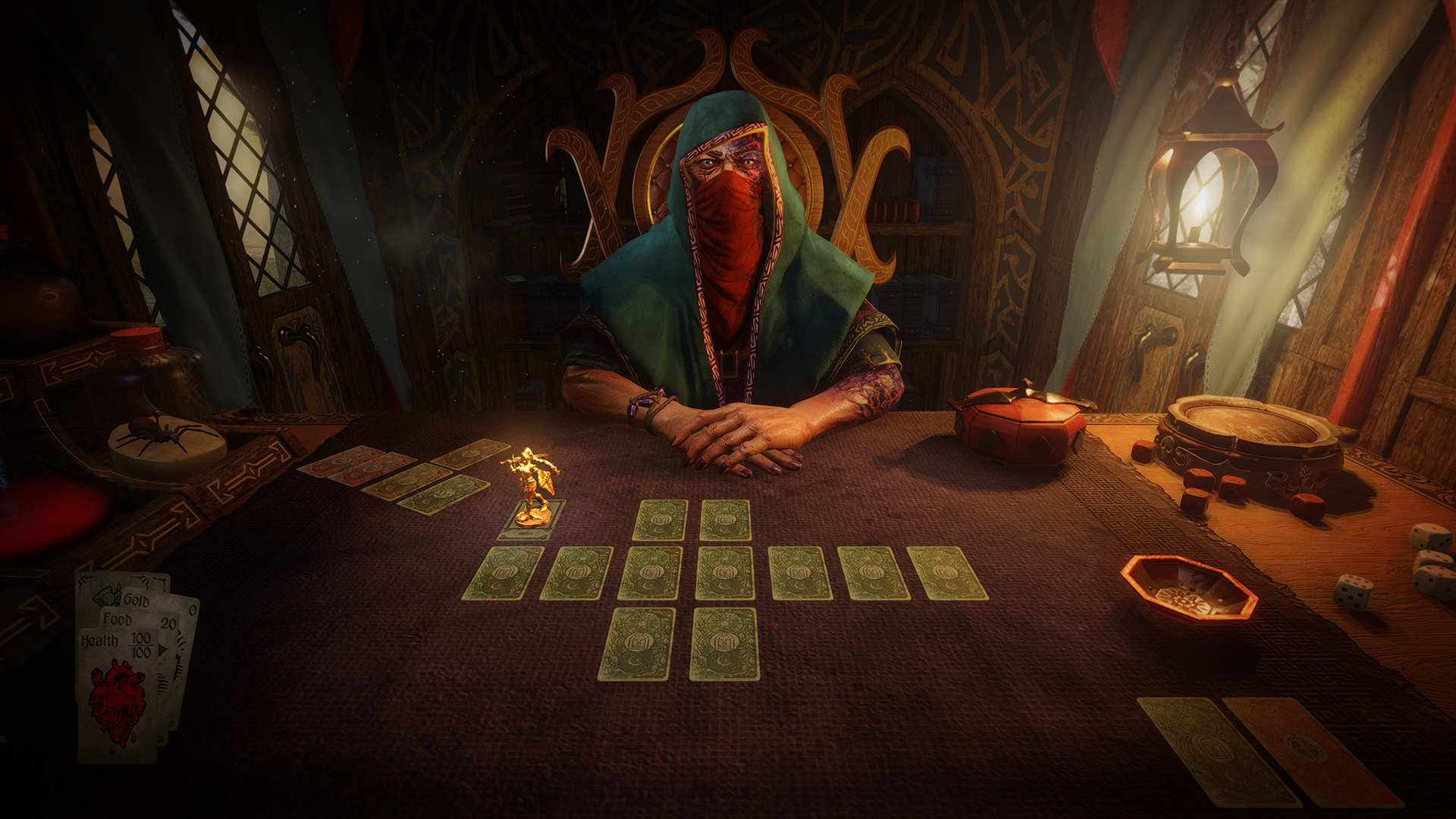 Hand of Fate 2 board