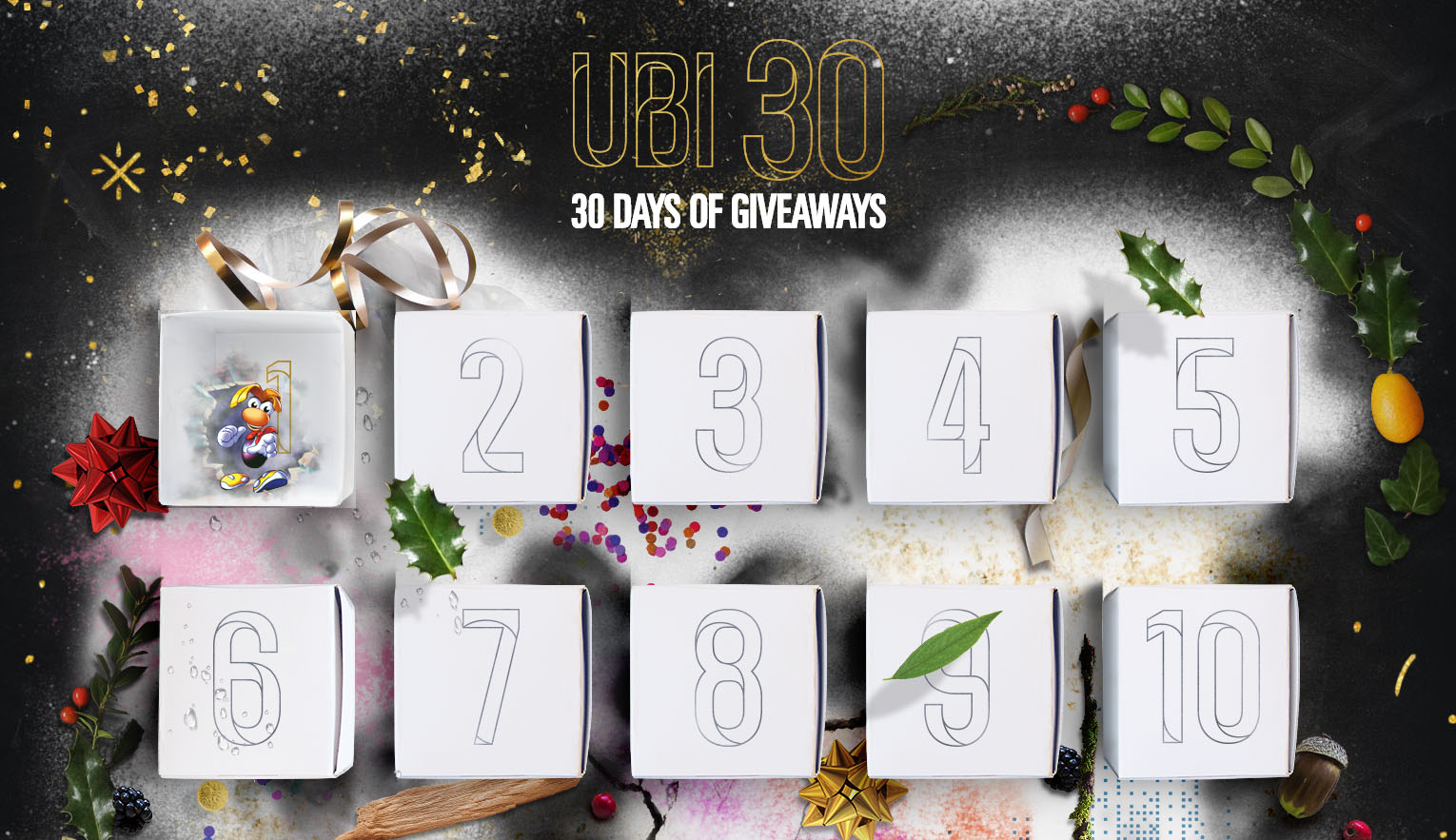 Full List of UBI 30 Days of Giveaways Revealed