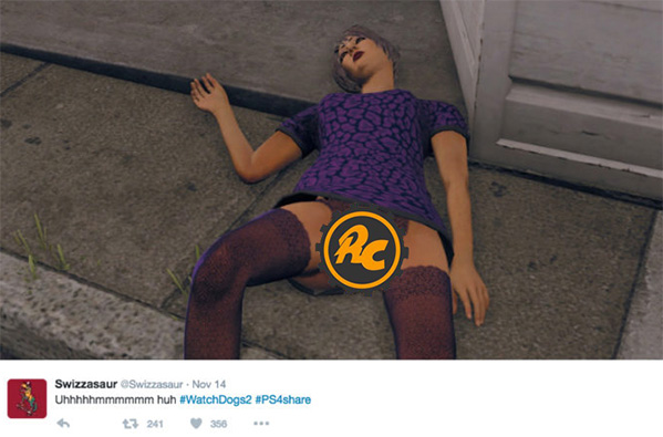 Watch Dogs 2 Vagina Watch Dogs 2 Has Vaginas and its Getting Players Banned