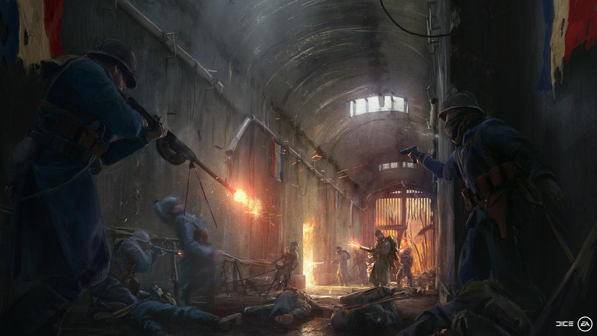 Battlefield 1 Expansion Artwork