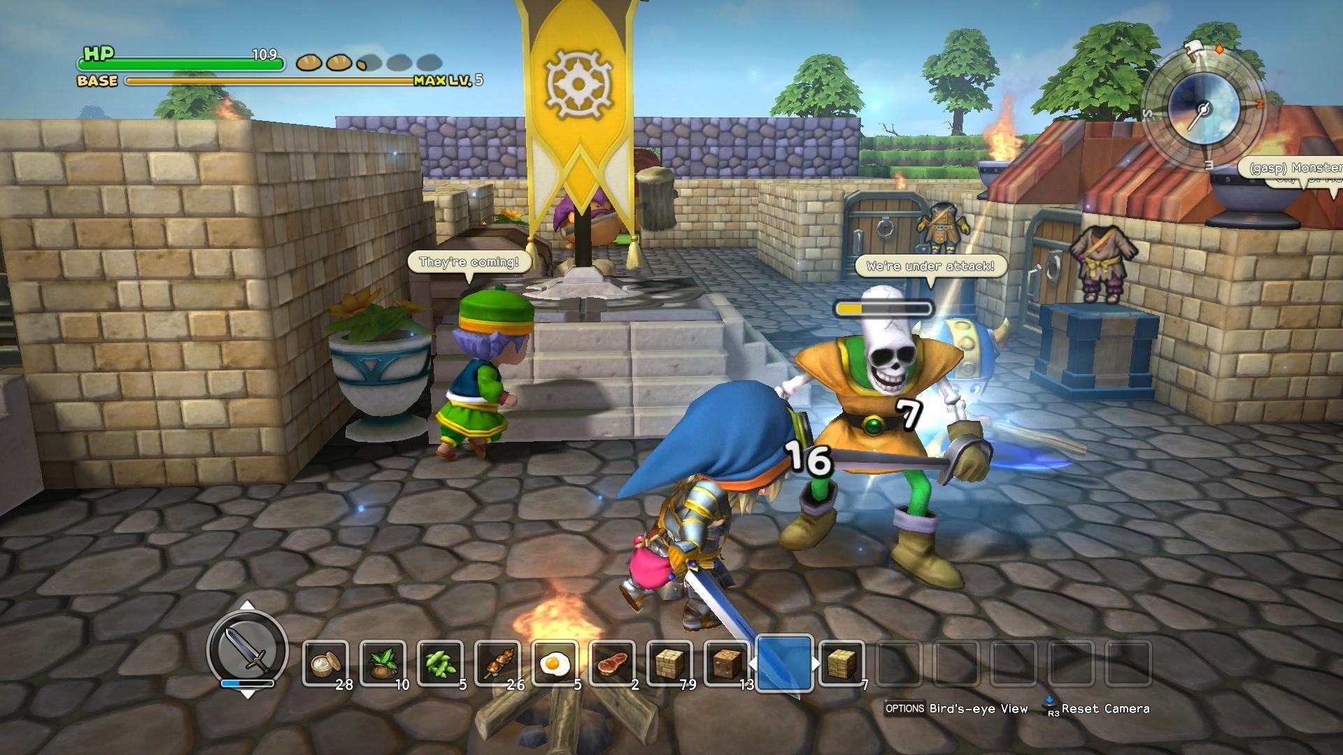 Dragon Quest Builders Gets Free Dlc Rocket Chainsaw