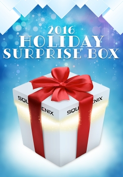 Square Enix Holiday Surprise Box Contents 2016 Available