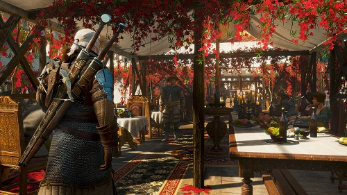 The Witcher 3 Wild Hunt Blood and Wine Beauclair is all kinds of fancy RGB Rocket Chainsaws 2016 Game of the Year Awards