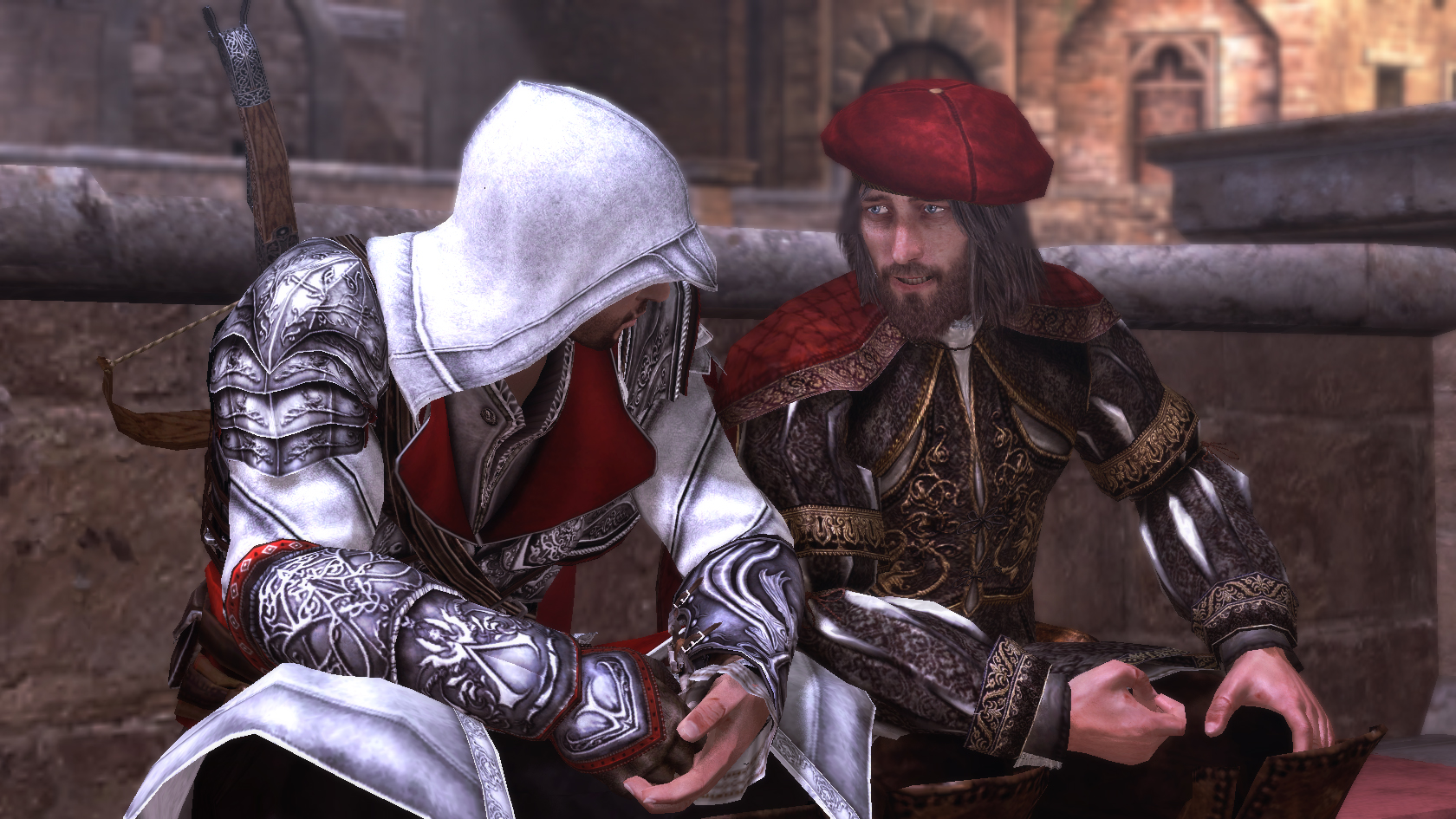 assassins creed ezio and da vinci Assassins Creed: The Ezio Collection Review