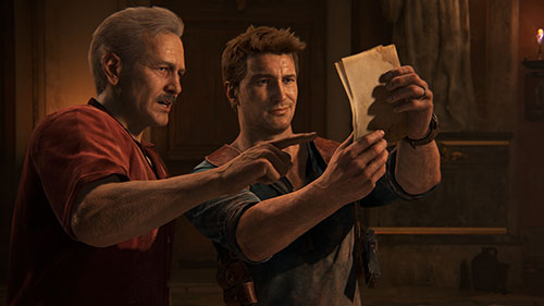 uncharted 4 Rocket Chainsaws 2016 Game of the Year Awards